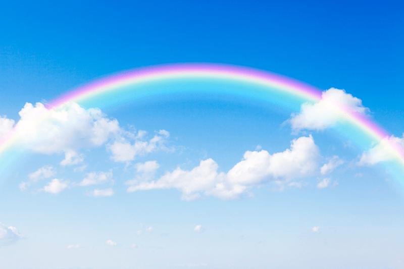 HAPPYな虹