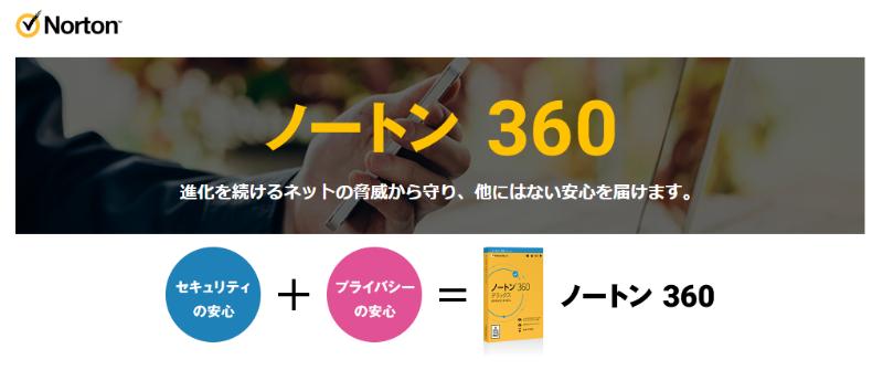 ノートン360シリーズ