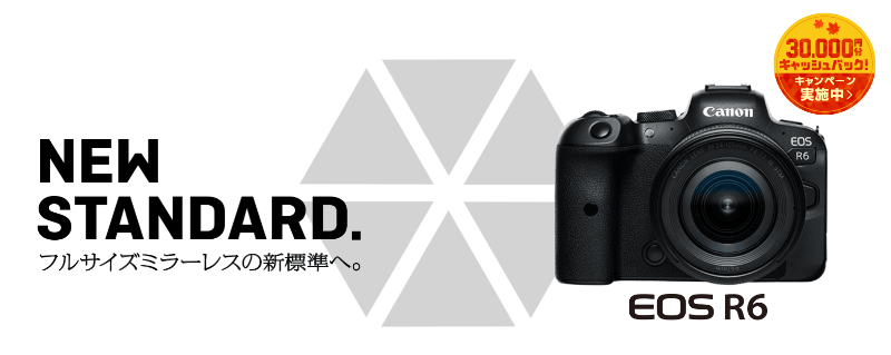 「EOS R6」の詳細