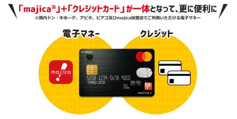 )電子マネー&クレジットカード一体型